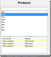 Added autocomplete to the protocols